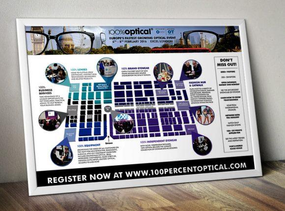 100% Optical Exhibit Map