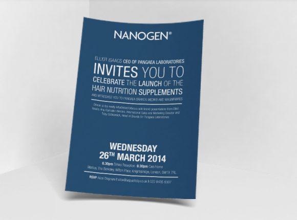 Nanogen Event Invitation