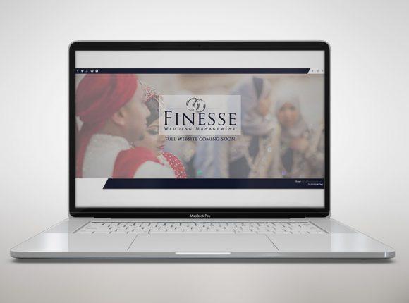 Finesse Wedding Management website