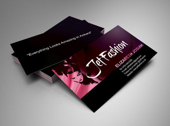 Jet Fashion Business card