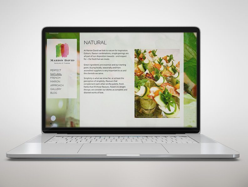 Marion David website